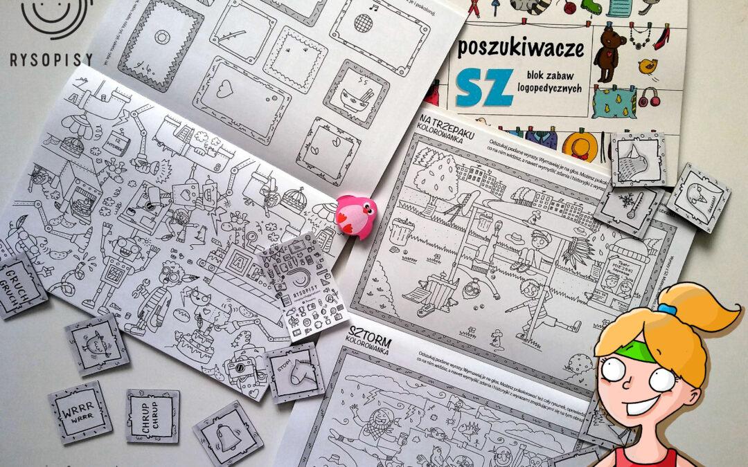Bloki zabaw logopedycznych