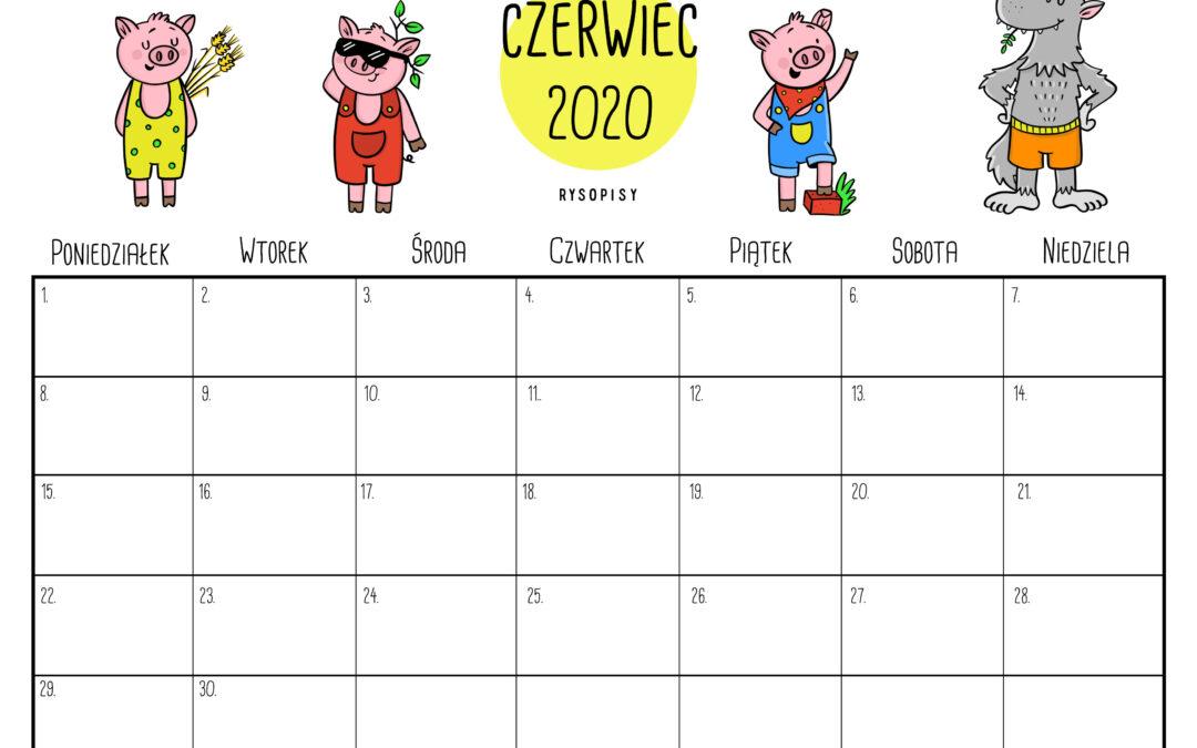 Kalendarz – czerwiec 2020