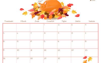 Kalendarz- listopad 2018