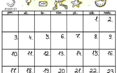 Kalendarz- LIPIEC 2017