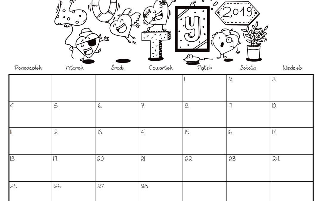 Kalendarz- luty 2019