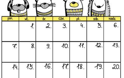 Kalendarz-sierpień 2017